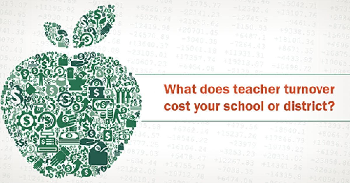 What's the Cost of Teacher Turnover?