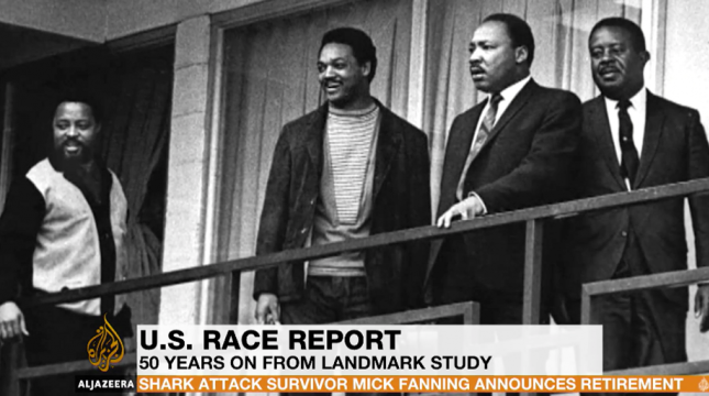 Al Jazeera: Race in America 50 Years After Kerner Report