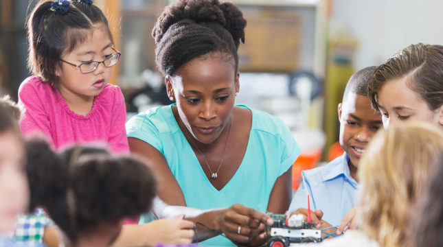 Press Release: Teachers of Color: In High Demand and Short Supply