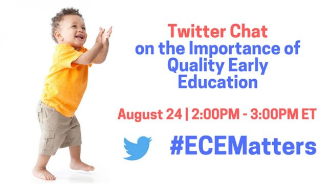 Twitter Chat: The Importance of Quality Early Education