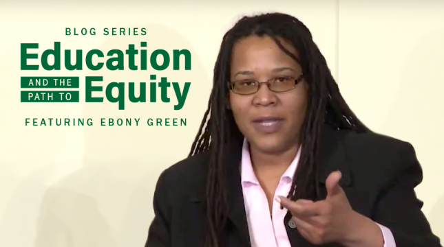 Ebony Green: Centering Racial Equity Is Key to Righting Historic Injustices