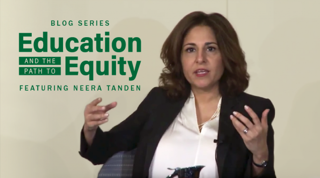 Neera Tanden: Separate and Unequal is Hurting America's Children. It's Time to Invest in Education and Integration on Behalf of Every Student.