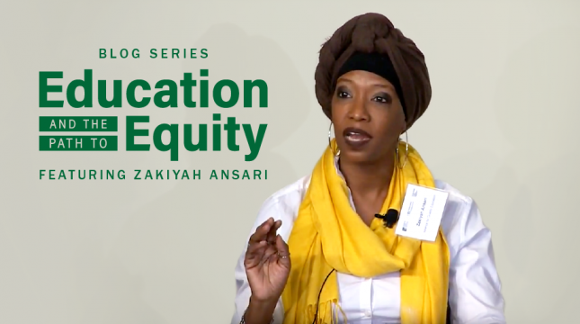 Zakiyah Ansari: Kerner at 50: Who Will Be Bold and Courageous? Confronting Racism and School Funding Equity