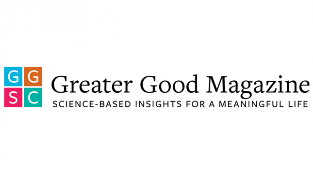 Greater Good Magazine logo