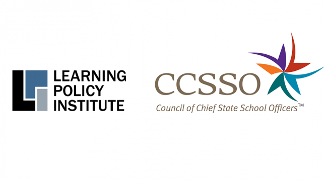 Learning Policy Institute and Council of Chief State School Officers logos