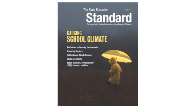 The State Education Standard may 2020 journal cover