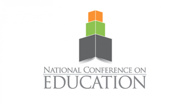 National Conference on Education logo