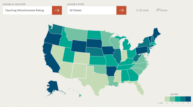 Understanding Teacher Shortages Interactive Map