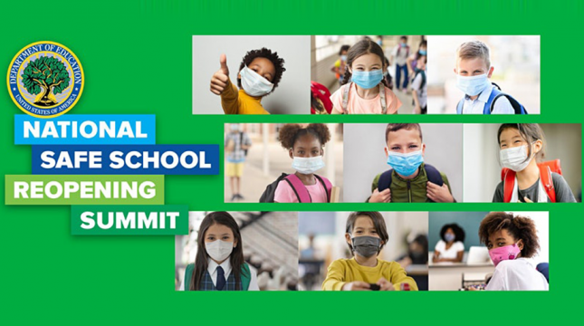 Artwork for National Safe School Reopening Summit