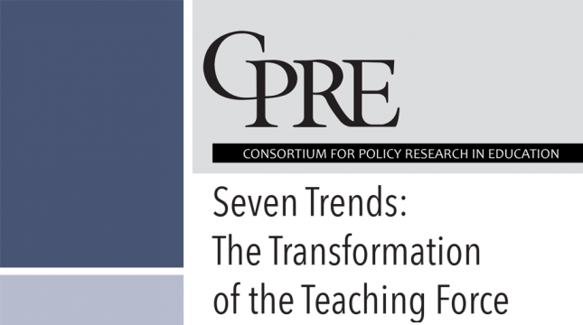 Seven Trends: The Transformation of the Teaching Force