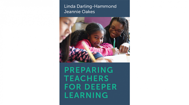 Book cover: Preparing Teachers for Deeper Learning