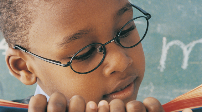 To Teach a Child to Read, First Give Him Glasses