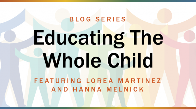 Educating the Whole Child blog series image card