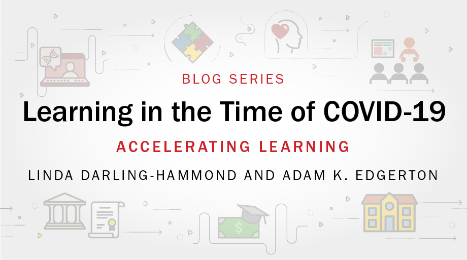 Learning in the time of COVID-19 blog series art: Accelerated Learning